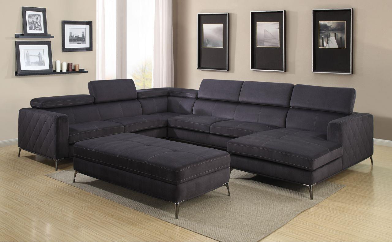 Gatsby 1245 133 Inch Sectional Sofa