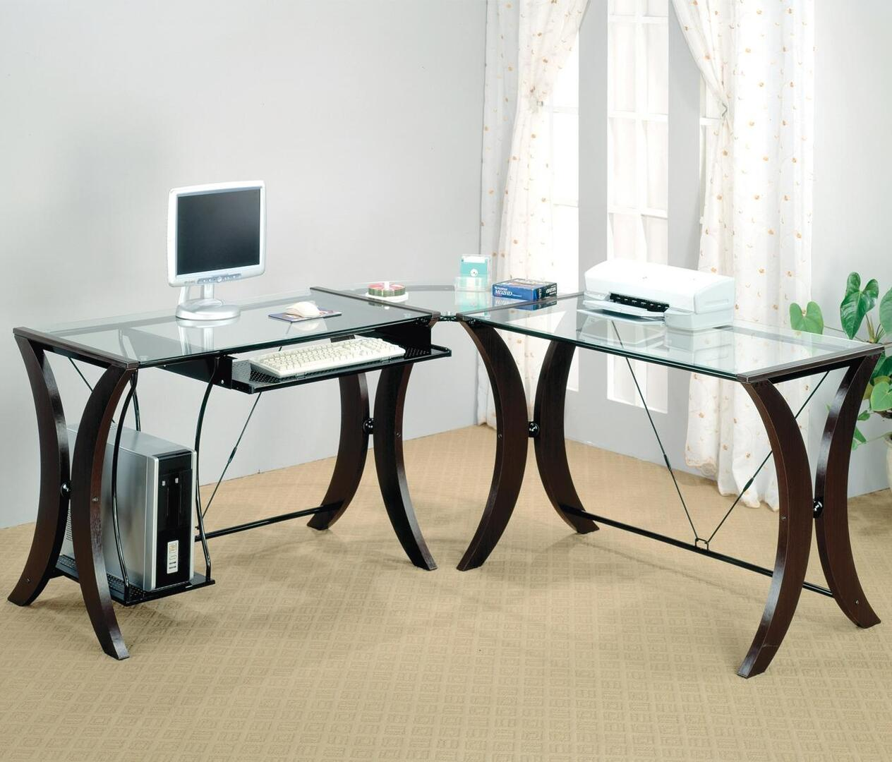 Coaster Division 800446 95 Inch 3 Pc Computer Desk With L Shape