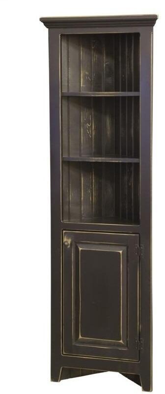 Chelsea Home Furniture Luke 465011 24 Inch Corner Cabinet With 2