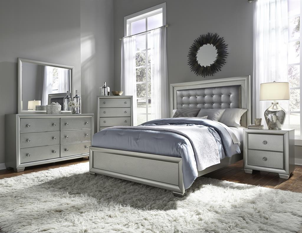 Samuel Lawrence Celestial 5 Piece Queen Size Bedroom Set