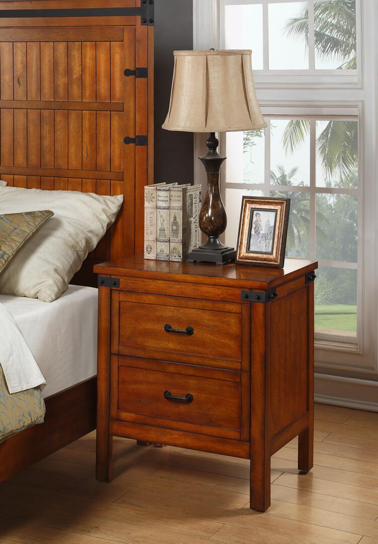 Legends Furniture Zind 7015 Industrial Nightstand In