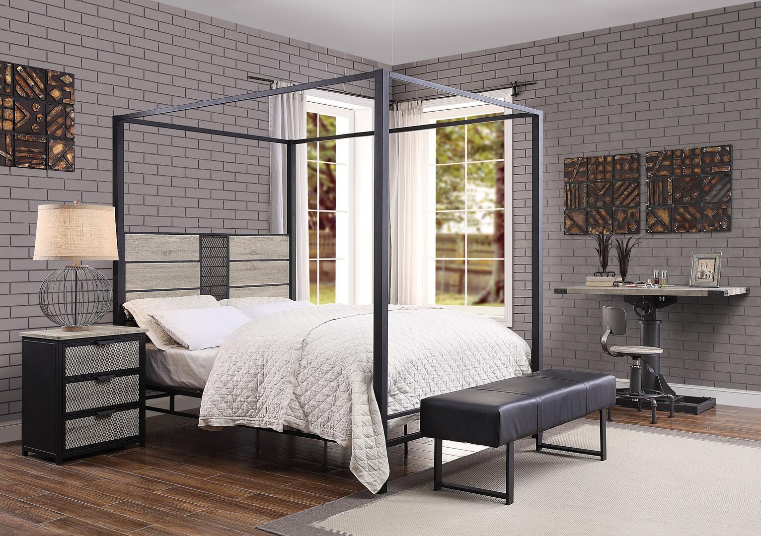 Acme Furniture Baara 5 Piece Queen Size Bedroom Set