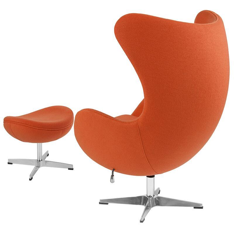 Flash Furniture ZB17CHOTGG Accent Chair Orange, ZB 17 CH OT GG inset2