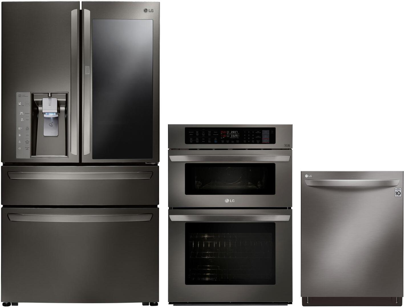 Lg 3 Piece Kitchen Liances Package