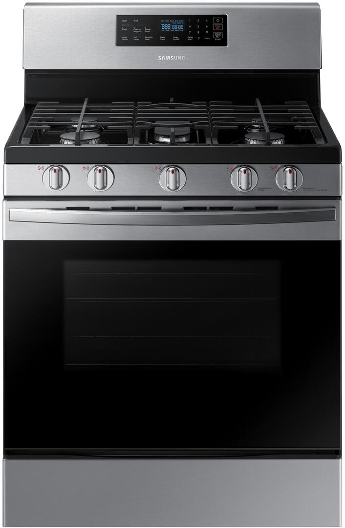 Samsung 30 in. 5.8 cu. ft. Gas Range with Self-Cleaning Oven