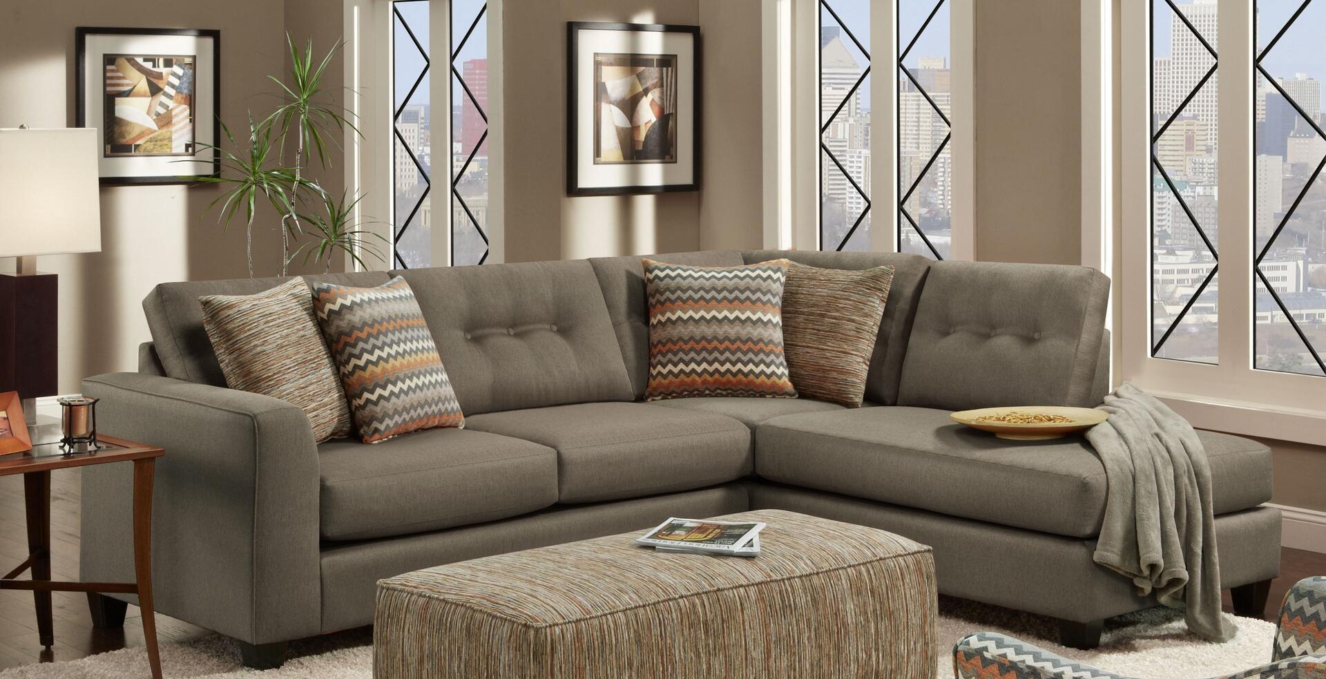 Chelsea Home Furniture Phoenix FS15156-FM 2 pc Sectional ...