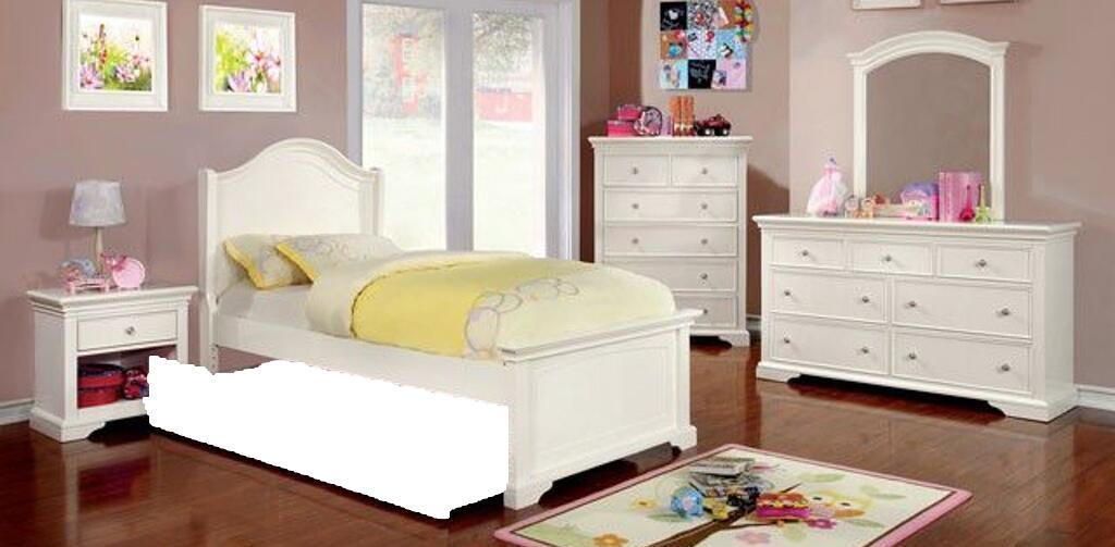 Furniture of America Mullan 5 Piece Full Size Bedroom Set