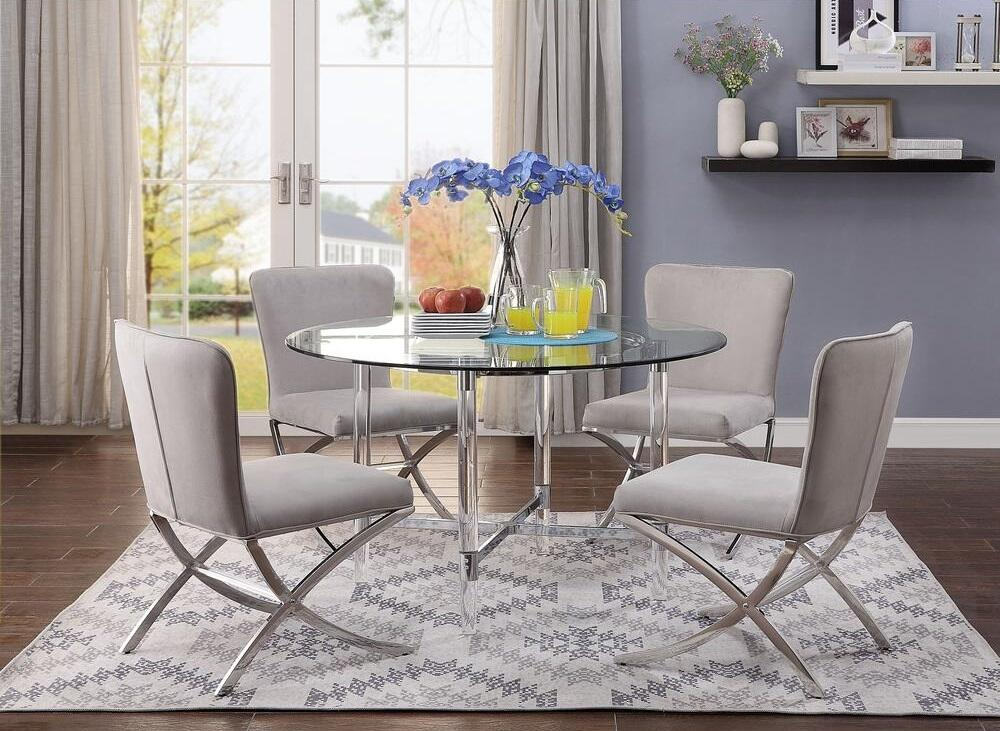 Dining Room Sets With Velvet Chairs