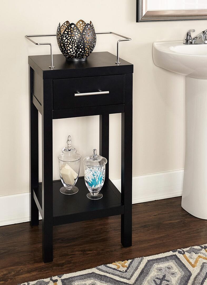 Linon BA006BLK01 Cabinet Black Linon Home Décor
