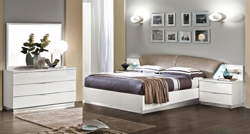 ESF Onda 5 Piece Queen Size Bedroom Set