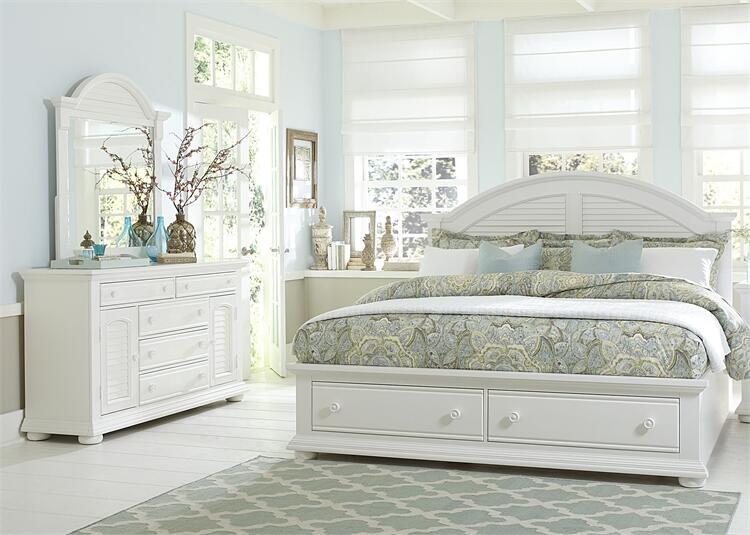 Liberty Furniture Summer House I 3 Piece King Size Bedroom Set