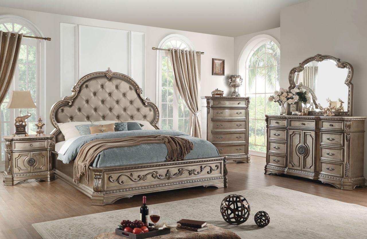 Acme Furniture Northville Collection 26930qwset 5 Pc Bedroom Set