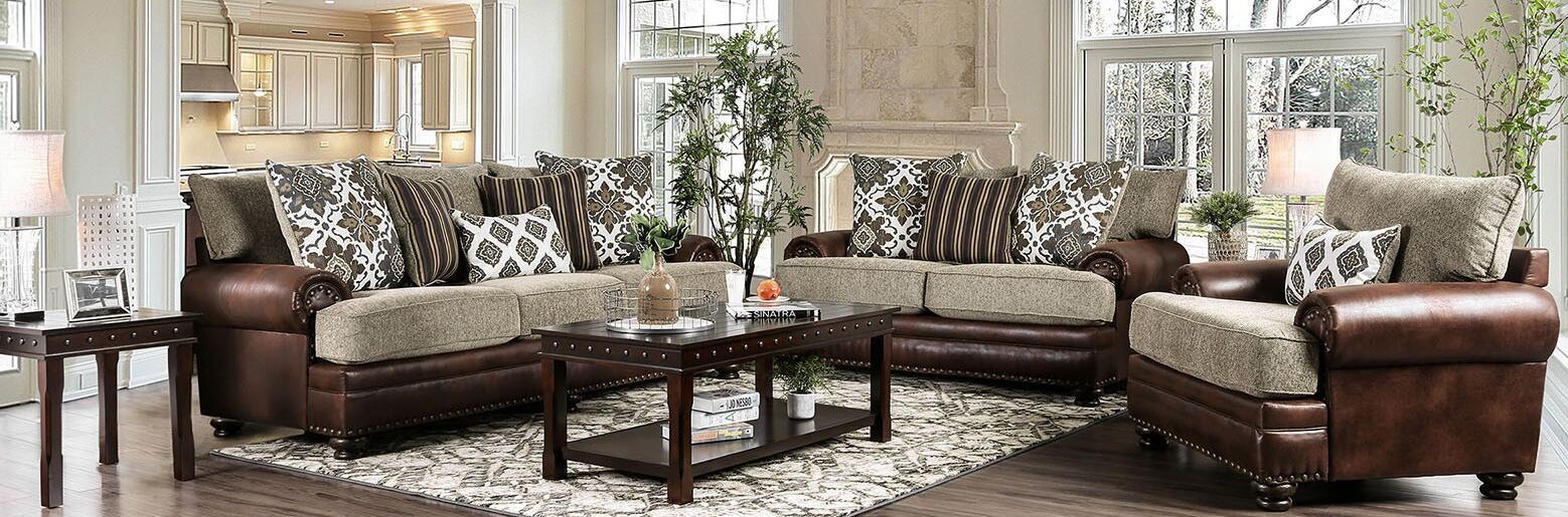 Furniture of America SM5147SFLVCH3PK
