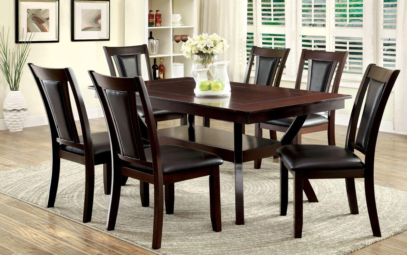 Furniture of America Emmons Dining  Table   Item# 7882