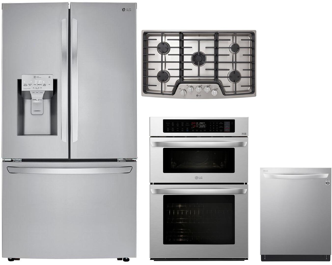 Lg 4 Piece Kitchen Liances Package