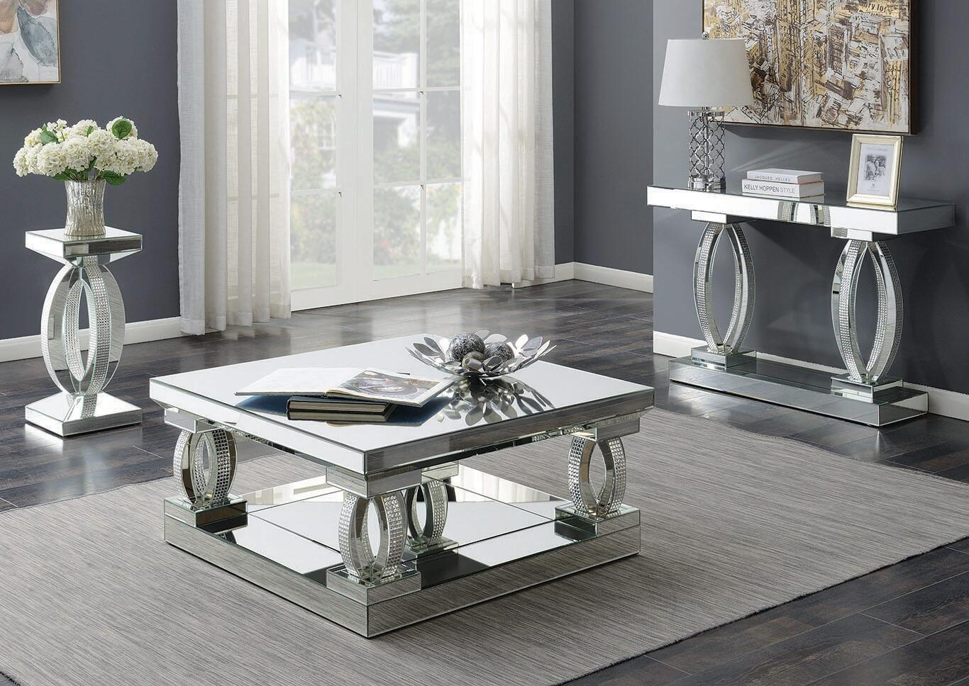 Living Room Table Set With Coffee