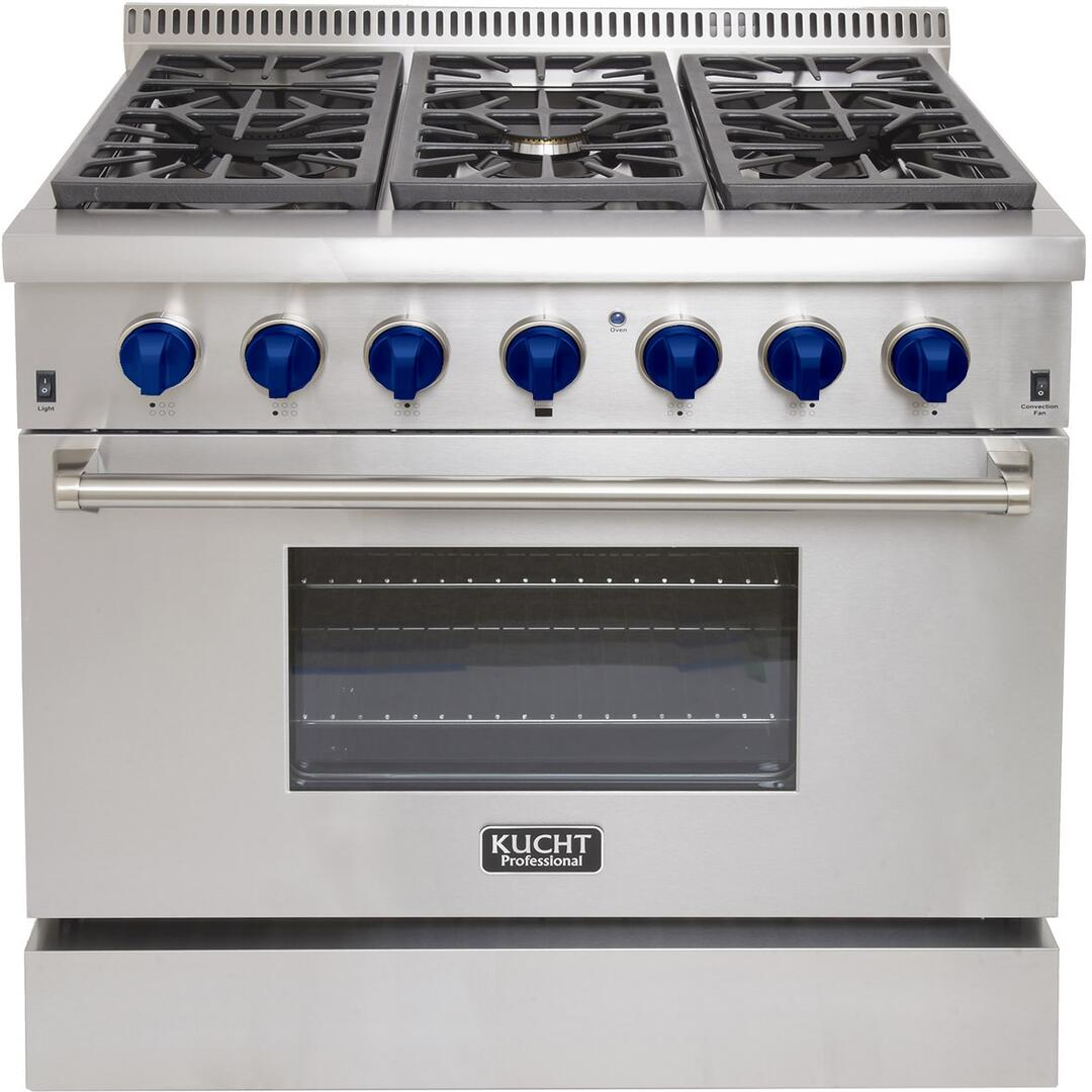- Kucht KRD366FB Professional Series 36 Inch Stainless Steel Dual