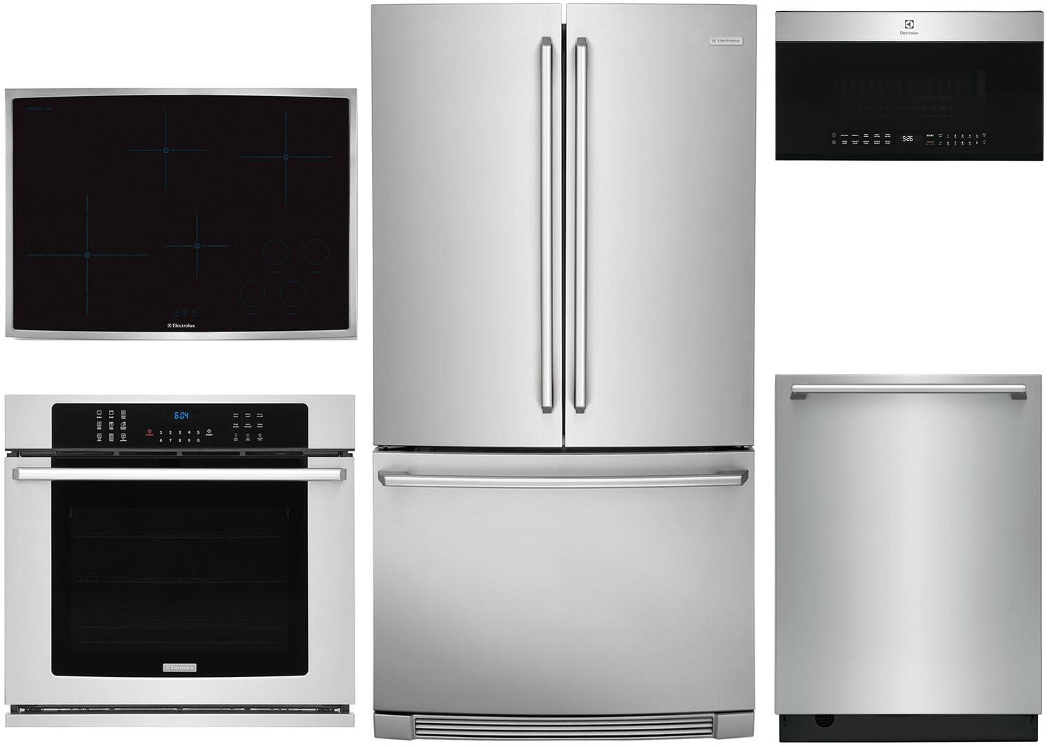 Electrolux 1046296 5 piece Stainless Steel Kitchen Appliances Package