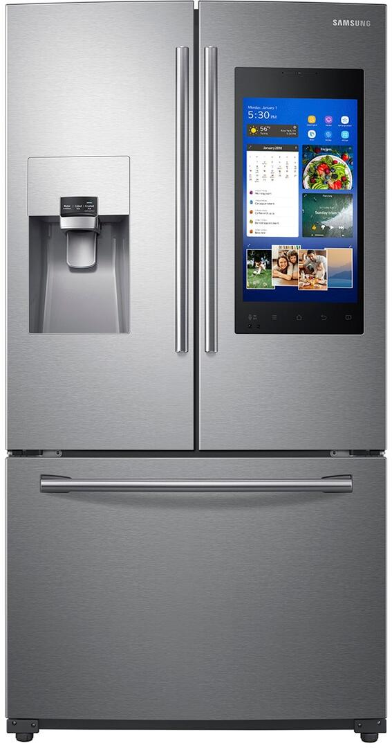 Samsung 24.2 Cu Ft French Door Refrigerator With Family Hub