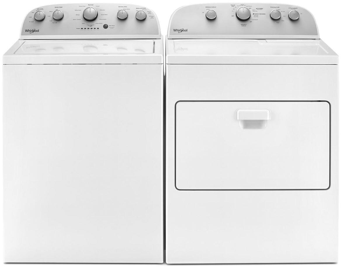 Whirlpool White Top Load Laundry Pair