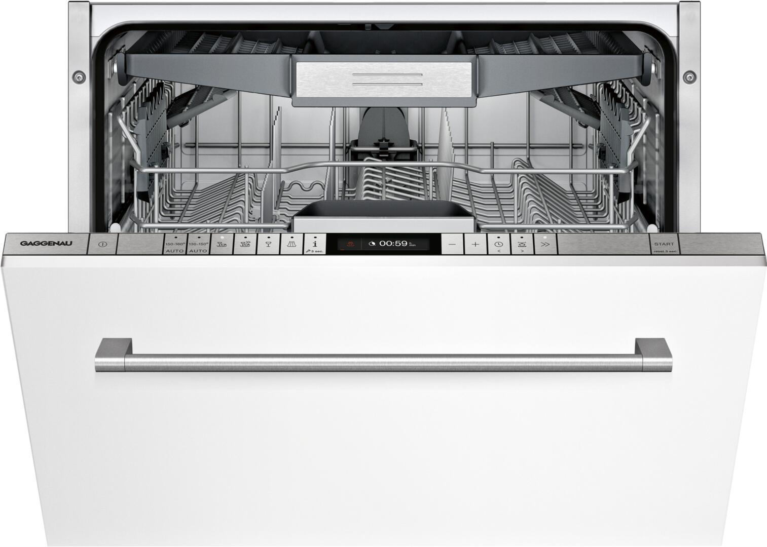 """Gaggenau DF250761 200 Series 24"""" Built-In Dishwasher"""