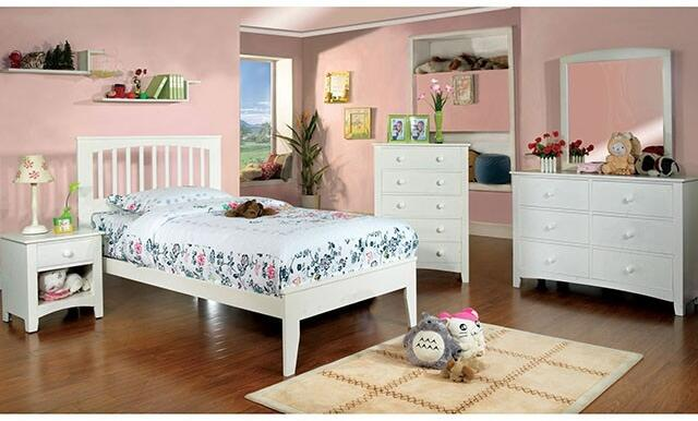 Furniture of America Pine Brook 5 Piece Full Size Bedroom Set