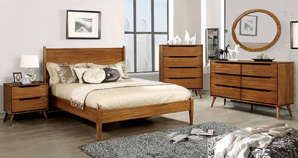 Furniture of America Lennart 5 Piece Full Size Bedroom Set