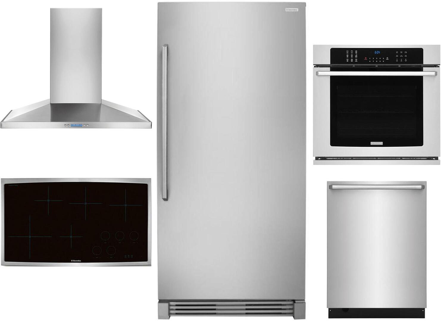 Electrolux 5 Piece Kitchen Liances