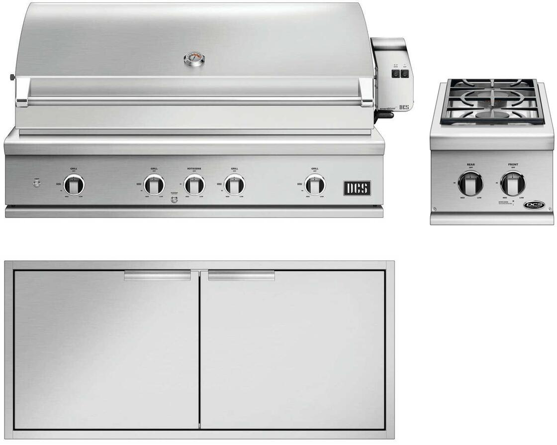 Dcs 3 Piece Grill Package With Be148rcn