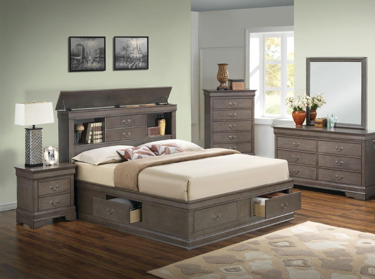 Glory Furniture G3105 5 Piece Queen Size Bedroom Set