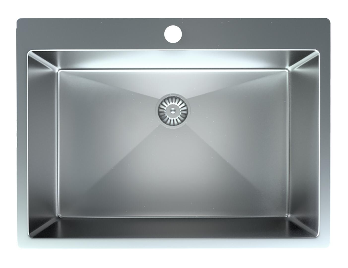 Satin Stainless Dual Mount Kitchen Sink