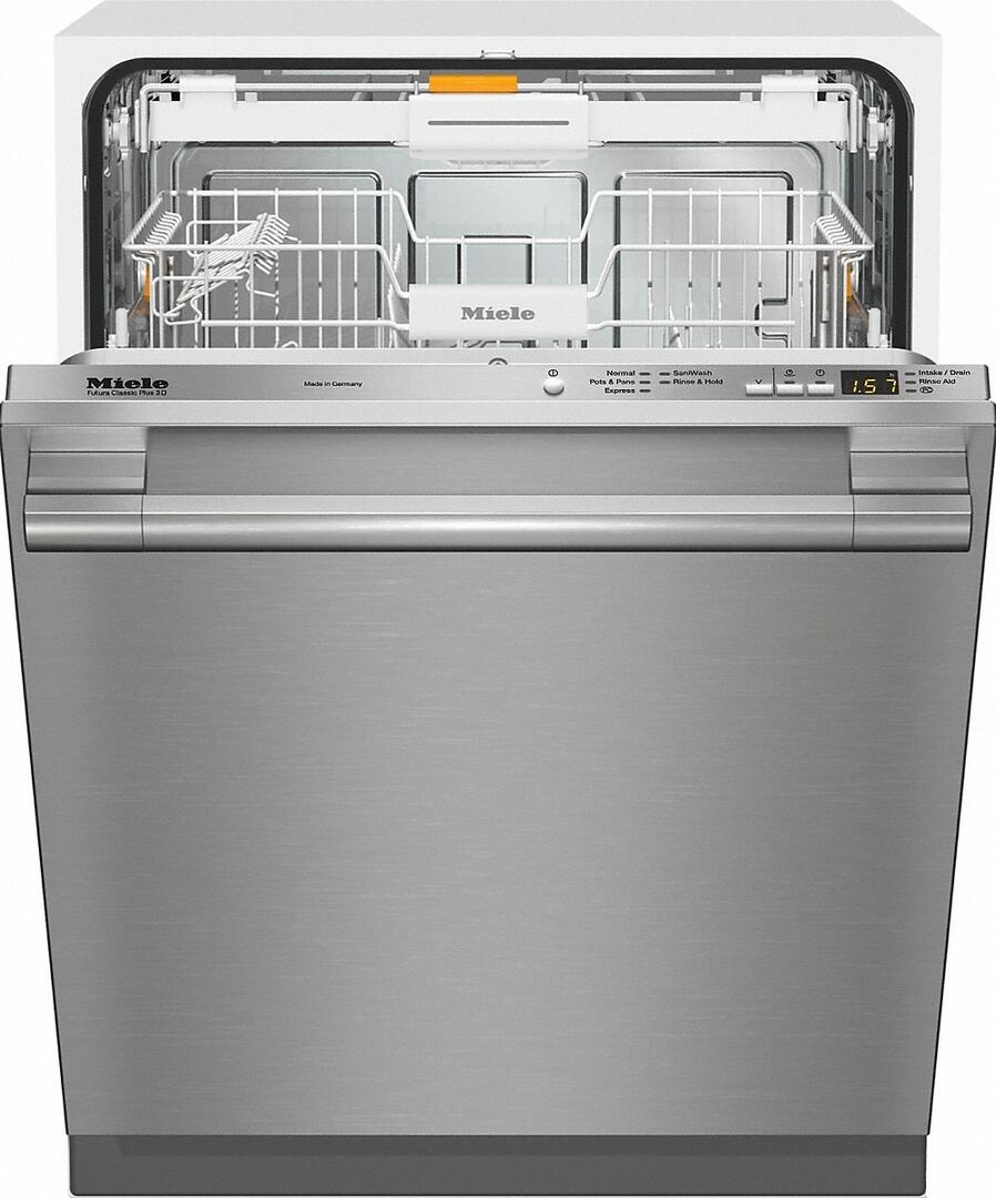 Miele Dishwasher Reviews >> Miele G4998scvisf Classic Plus Series 24 Inch Stainless Steel Built In Fully Integrated Dishwasher