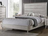 Deals on Coaster Ramon Collection 222701KE King Size Bed w/Tapered Legs