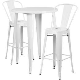 Flash Furniture CH51090BH230CAFEWHGG