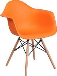 Flash Furniture FH132DPPORGG