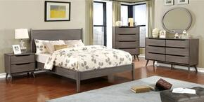 Furniture of America CM7386GYFBEDSET