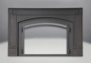 CI3SSB Black Cast Iron Surround with Safety Barrier (for opening smaller th...