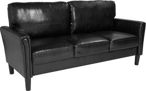 Flash Furniture SLSF9203BLKGG