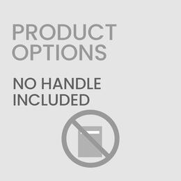 No Dishwasher Handle Included (Customer Supplies Their Own Dishwasher Handl...