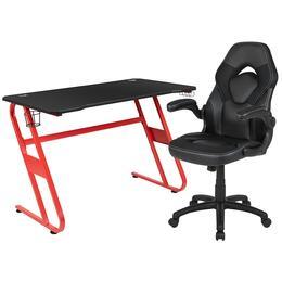 Flash Furniture BLNX10RSG1030BKGG