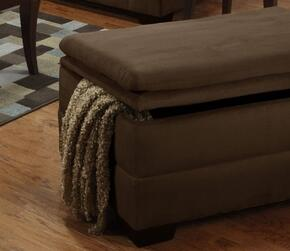 Simmons Upholstery 6565095LUNACHOCOLATE