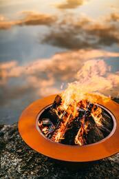 Fire Pit Art SATURNFPAMLS120NGAWEIS