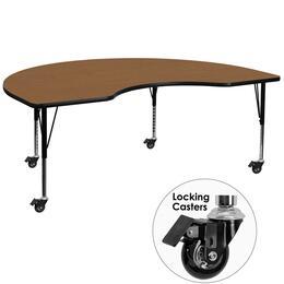 Flash Furniture XUA4872KIDNYOAKTPCASGG
