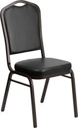 Flash Furniture FDC01GOLDVEINBKVYGG