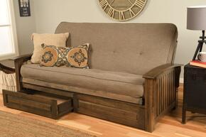 Kodiak Furniture KFWADRWLSTNLF6MD4