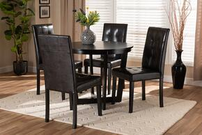 Wholesale Interiors VIDADARKBROWN5PCDININGSET