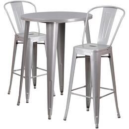Flash Furniture CH51090BH230CAFESILGG