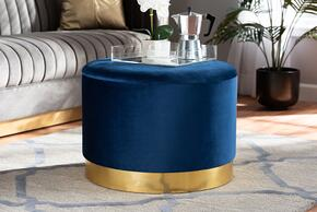 Wholesale Interiors JY19A221NAVYGOLDOTTO