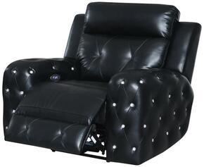 Global Furniture USA U8311BLANCHEBLACKPR