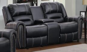 Myco Furniture 1027LCBK